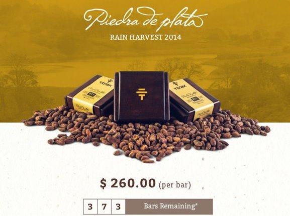 世界最贵巧克力,260美元一块