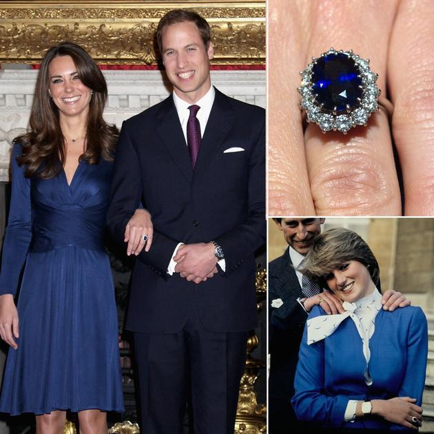 戴妃的订婚戒指给了威廉 那哈里结婚用啥?