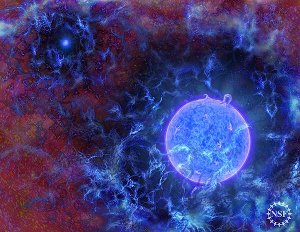 什么时候开始有星星?科学家在收音机中听到答案