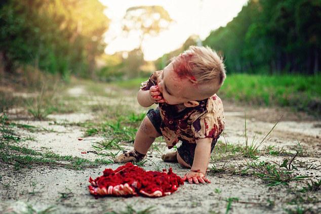 """澳1岁男童""""死而复生"""" 母亲为其举行""""僵尸""""庆生会"""